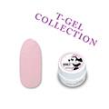 T−GEL COLLECTION カラージェル D001 クリーミーピンク 4ml